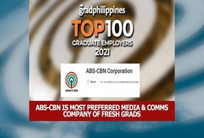 ABS-CBN is most preferred media & communications company among fresh grads