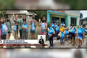 Filipinos affected by floods, volcanic activity get help through ABS-CBN Foundation