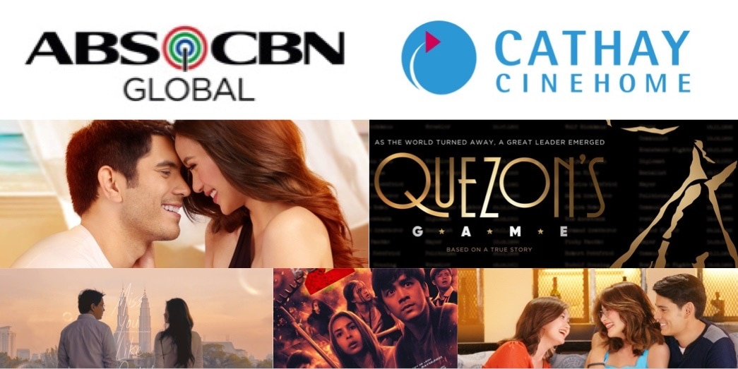 ABS-CBN brings blockbuster Filipino movies to Cathay CineHome in Singapore