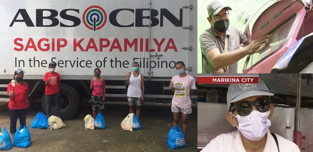 ABS-CBN Foundation delivers food packs, hot meals to Filipinos hit by typhoon and pandemic