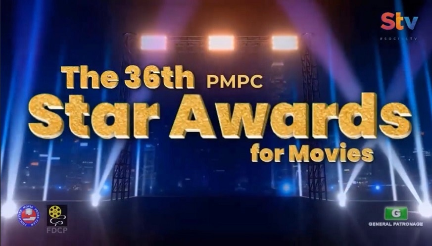 ABS CBN films and stars were recognized at the 36th PMPC Star Awards for Movies