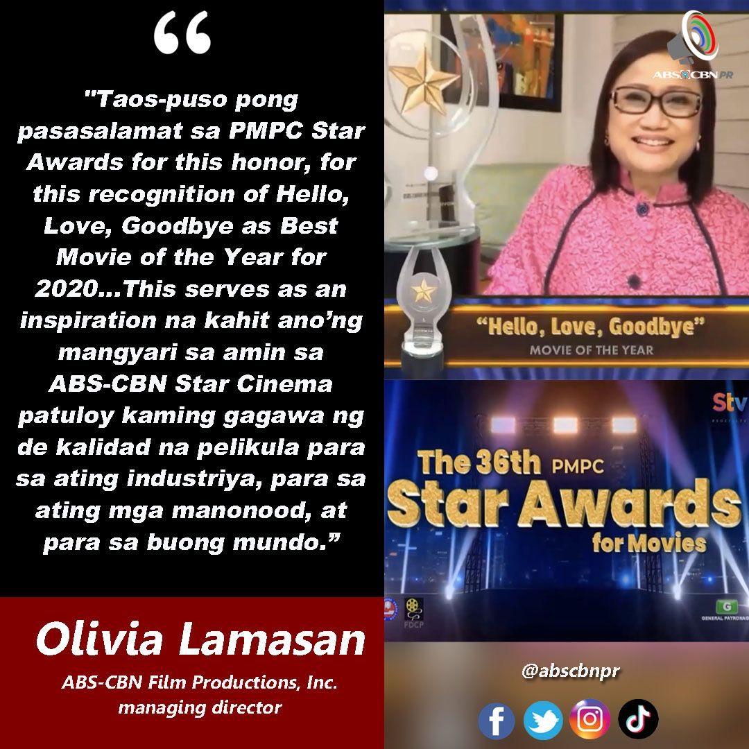 Artcard ABS CBN Films managing director Olivia Lamasan