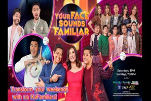 """""""Your Face Sounds Familiar,"""" ready to transform weekends on its third season"""