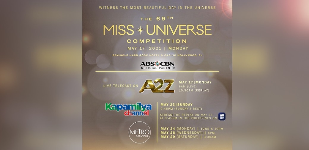 ABS-CBN brings Miss Universe 2020 LIVE on A2Z