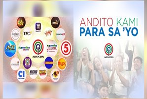 "ABS-CBN tells Filipinos: ""We are here for you"""