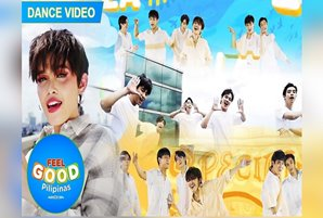 """KZ and BGYO's """"Feel Good Pilipinas"""" dance video spreads the good vibes"""