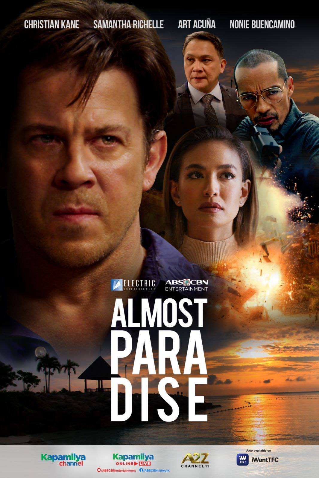 Almost Paradise is the first American TV series entirely shot in the Philippines