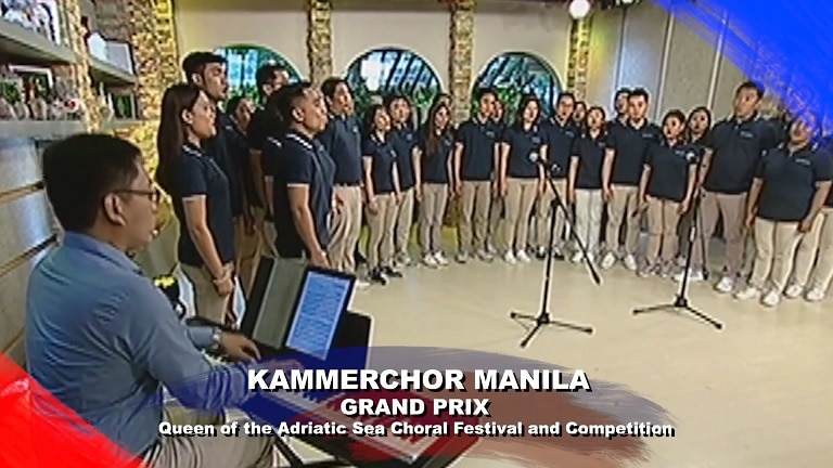 Kammerchor Manila Grand Prix winner Queen of the Adriatic Sea Choral Festival and Competition