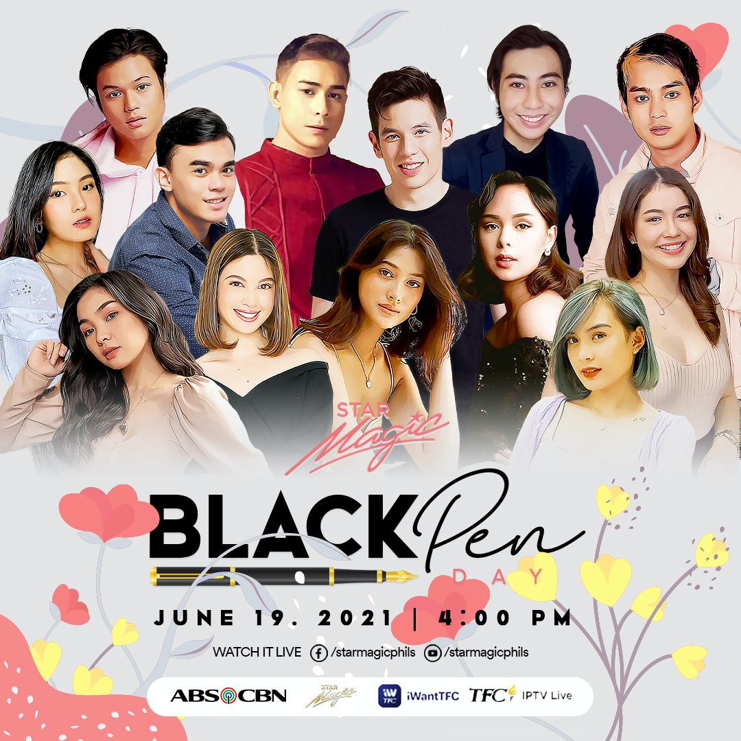 These fresh faces are among the more than 40 artists that will sign with ABS CBN at the Star Magic Black Pen Day