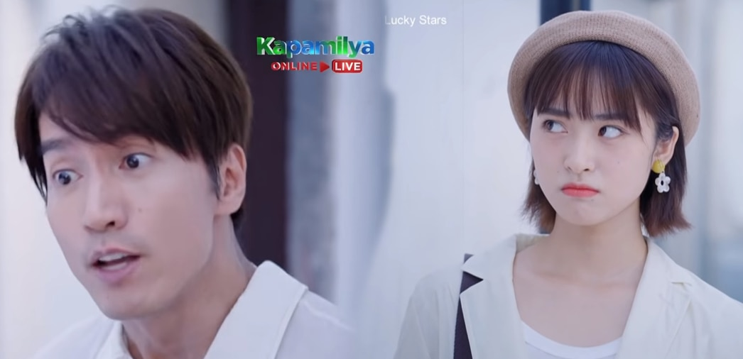 """A jealous Jerry Yan confronts Shen Yue in """"Count Your Lucky Stars'"""