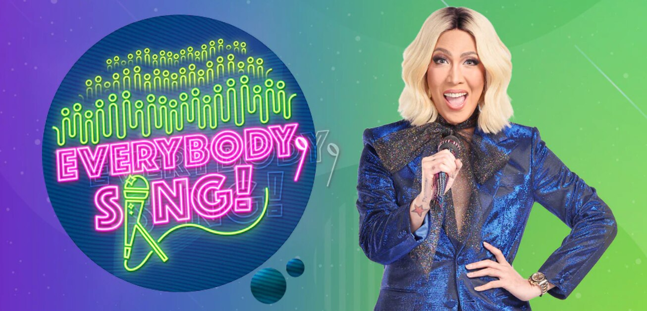 """Vice Ganda leads bayanihan and community singing in """"Everybody, Sing!"""" starting this weekend"""