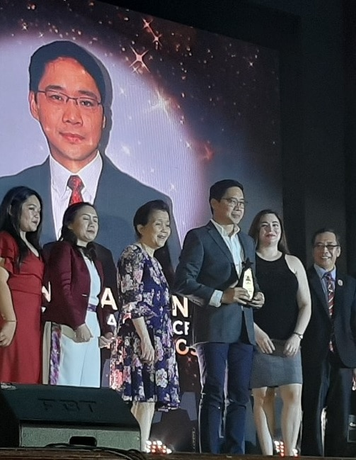 Anthony Taberna received the Best Morning Show Host award and Best Morning Show for Umagang Kay Ganda