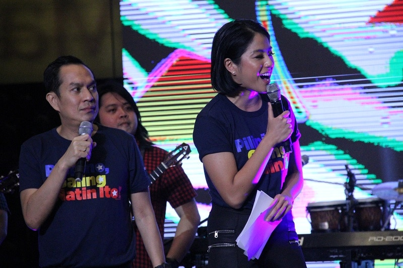 Renowned comedian Alex Calleja and multisport athlete and host Gretchen Ho