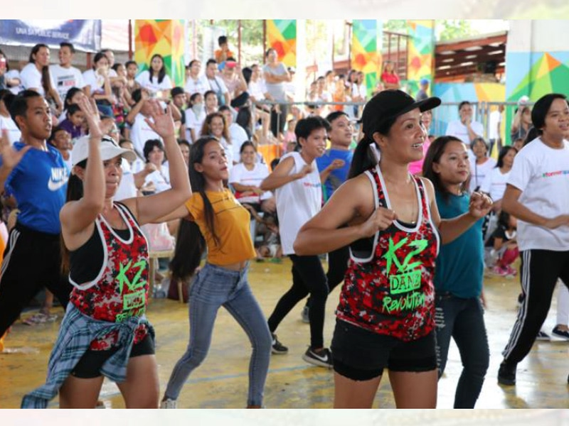 A Zumba Party was also held during the Kapamilya Love Weekend
