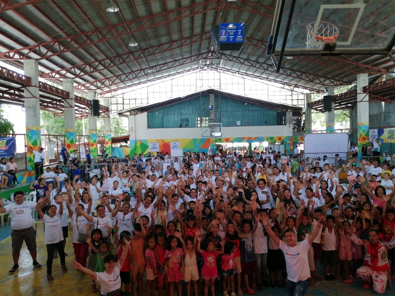 More than 2000 Kapamilyas were serviced in the Kapamilya Love Weekend in Barangay Basak