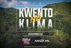 "ABS-CBN's ""Mga Kwento ng Klima"" docu bares effects of climate change in the Philippines"
