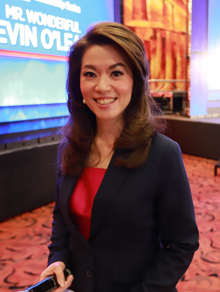 Cathy Yang is Best News or Current Affairs Presenter, Anchor in the 2019 Asian Academy Creative Awards