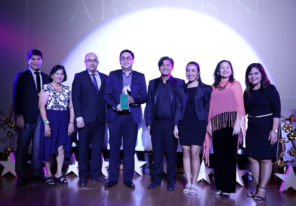 ABS CBN won Best TV Station anew at the Platinum Stallion Media Awards