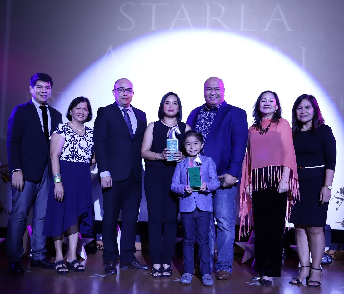 Starla won as Best Values Oriented Program