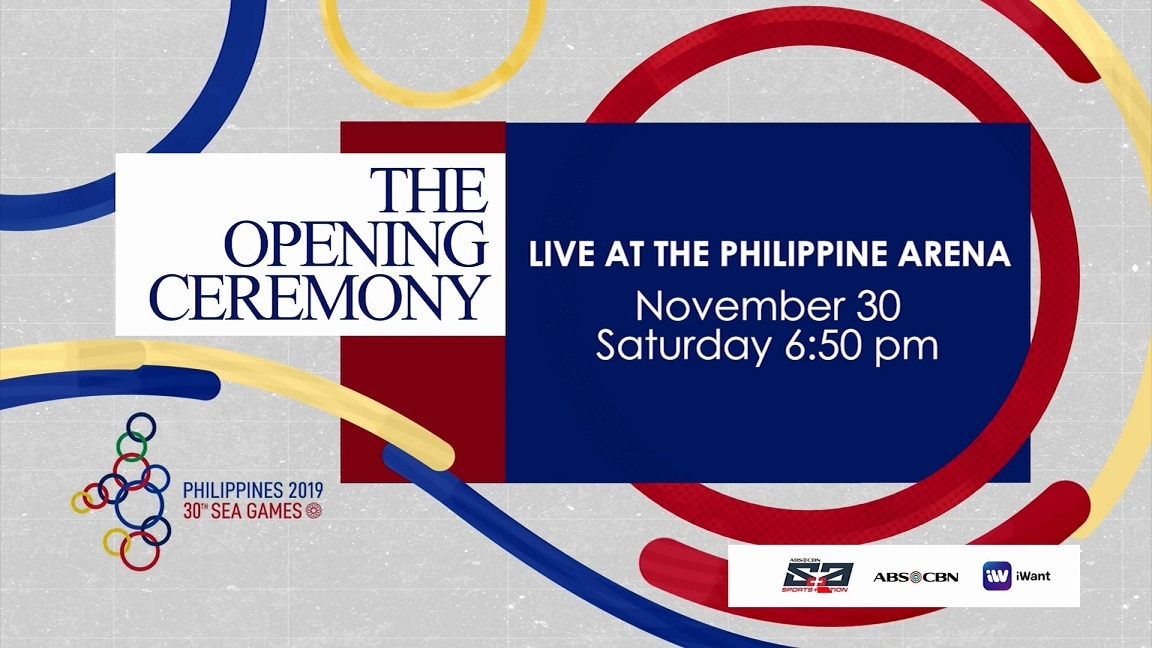 Catch the 2019 SEA Games Opening Ceremony live on ABS CBN