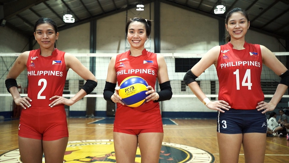 Watch volleyball superstars Alyssa Valdez, Aby Marano, and Mika Reyes fight for flag and country in the SEAG on ABS CBN Sports platforms