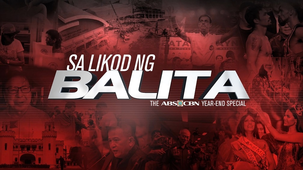 "Journos tell the stories behind the headlines  in ""Sa Likod ng Balita: The ABS-CBN 2019 Yearend Special"""