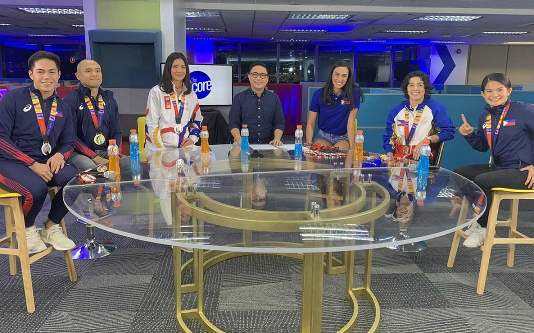 Filipino SEAG medalists join Mico Halili in The Score Sports Yearender 2019