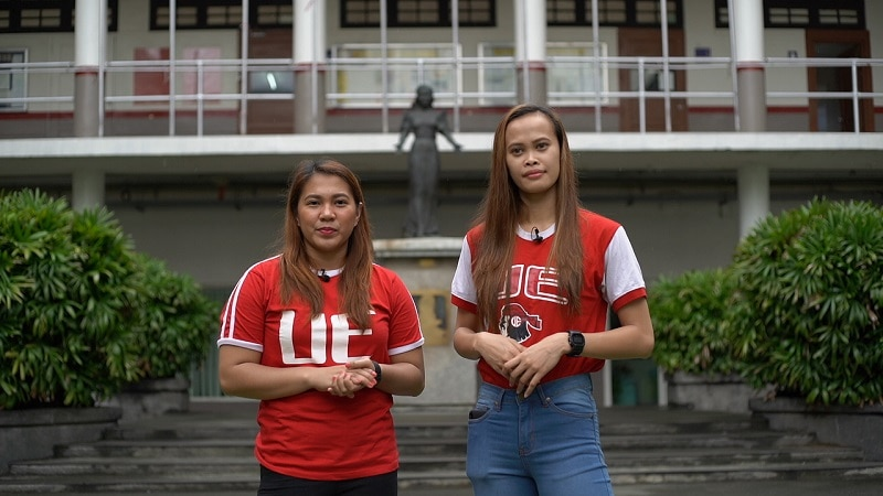 Kath Arado and Judith Abil tour viewers to look for the best tambayan spot 2