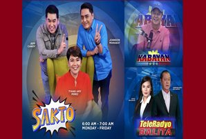 A new 'Sakto' with Amy, Jeff, & Johnson kick-starts TeleRadyo morning block