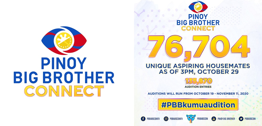 """""""Pinoy Big Brother Connect"""" yields over 135K audition entries on Kumu"""