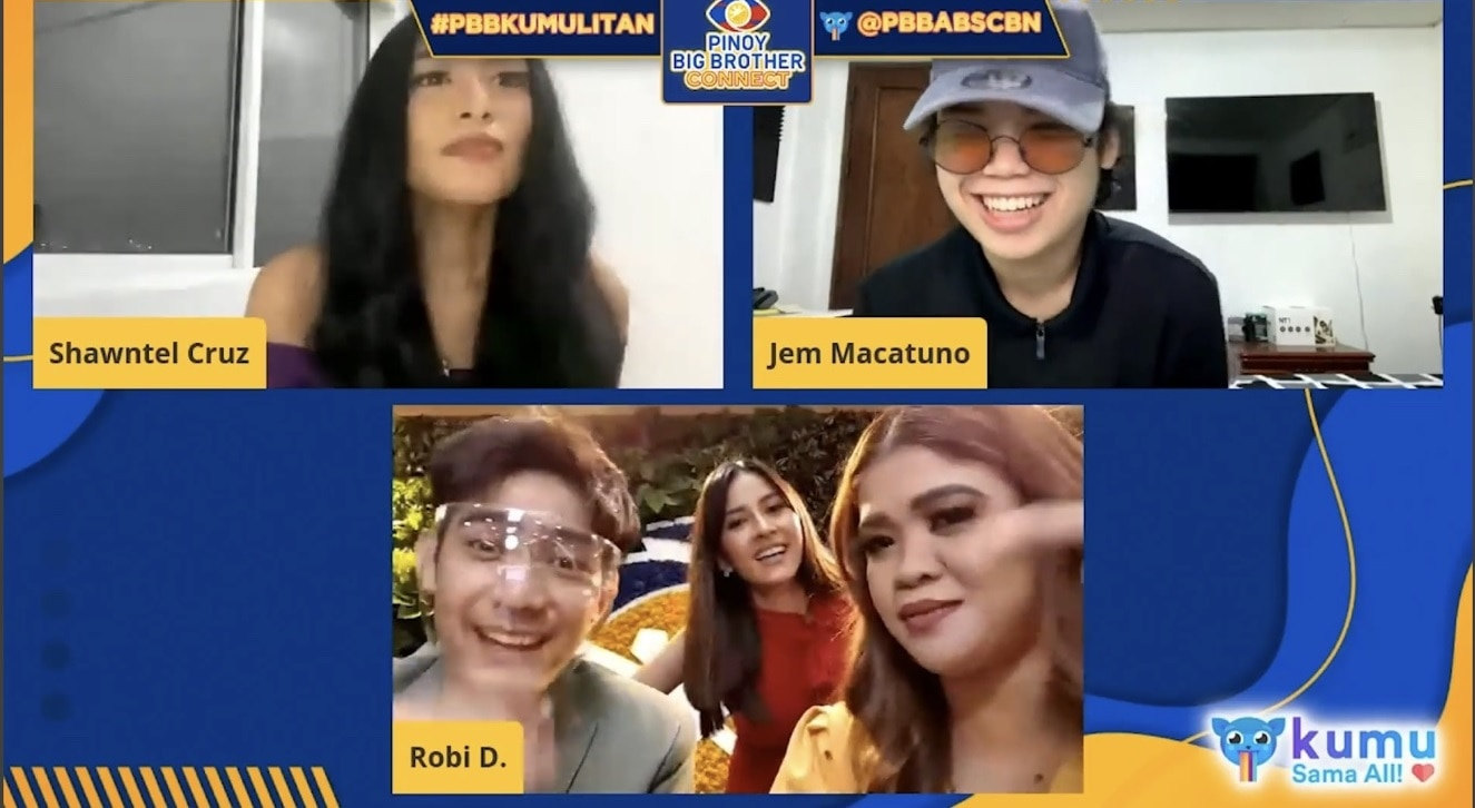 Melai Cantiveros Francisco and Biana Gonzalez Intal joined the fun in PBB Kumulitan