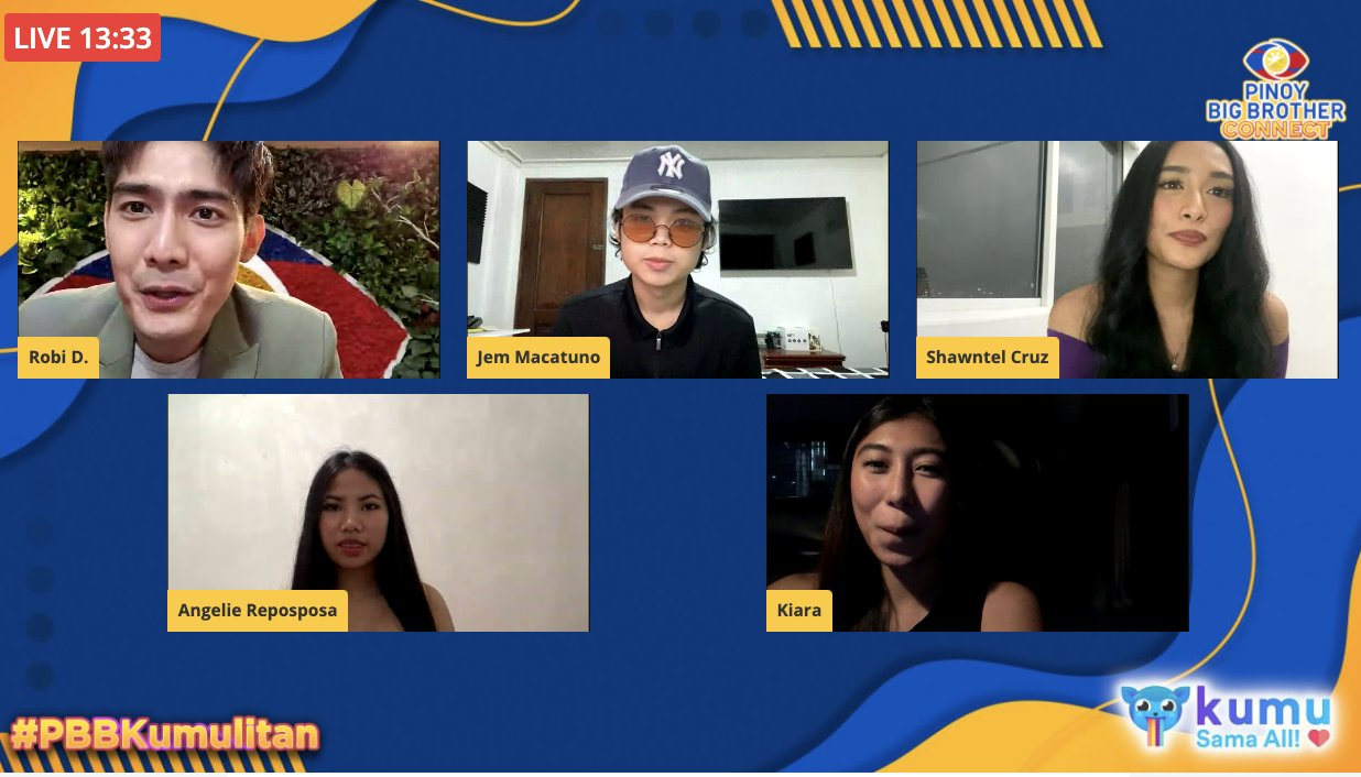 Shawntel, Jem, Kiara, and Lie are the voices behind the official soundtrack of Pinoy Big Brother Connect