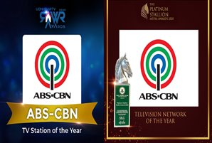 ABS-CBN, hailed as Best TV Station in Platinum Stallion and Rawr Awards