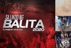 "ABS-CBN DocuCentral revisits this year's biggest stories in ""Sa Likod ng Balita 2020"" yearender"