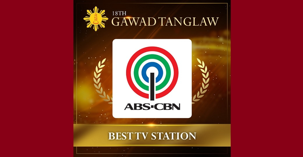 ABS-CBN hailed as Best TV Station in the 18th Gawad Tanglaw
