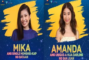 "Mika says goodbye, new housemate Amanda says hello in ""PBB Connect"""