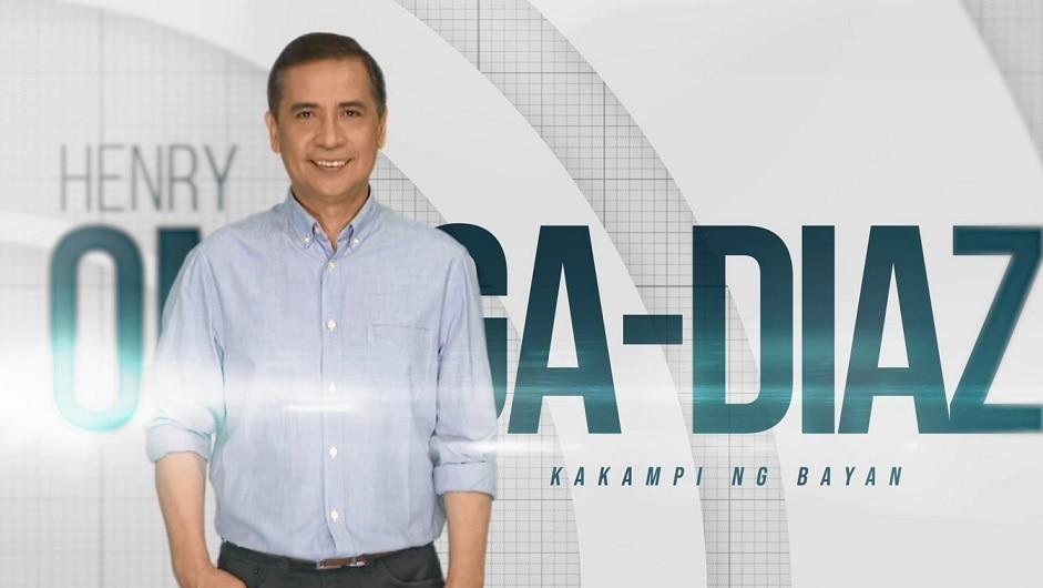 """Seasoned journalist Henry Omaga-Diaz joins """"TV Patrol"""""""