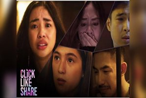 """Maymay, Tony, Barbie, Jerome, and Janella's social media nightmare becomes reality in """"Click, Like, Share"""""""