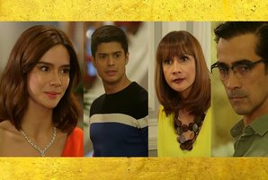 "Erich shocks JC, Agot, and Raymond in ""La Vida Lena"""