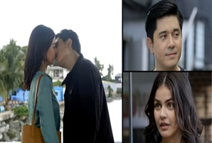 """Paulo and Janine share first kiss in """"Marry Me, Marry You"""""""