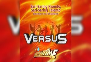"With or without talent, Pinoys challenge each other in ""Versus"""