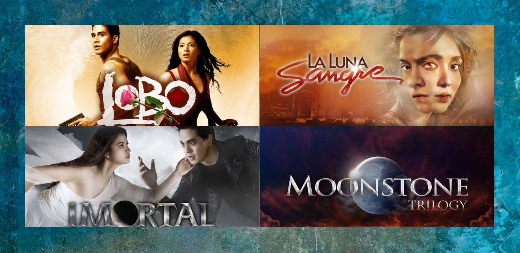"Full episodes of ""Lobo,"" ""Imortal,"" and ""La Luna Sangre"" available in chapters for binge-watching on iWantTFC"