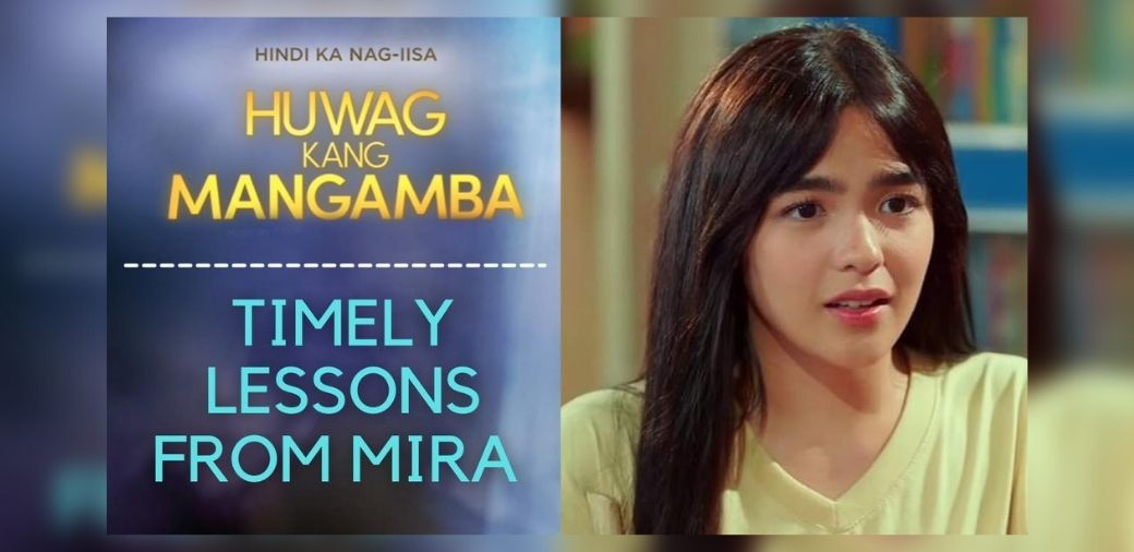 Timely lessons from Mira of ABS-CBN's