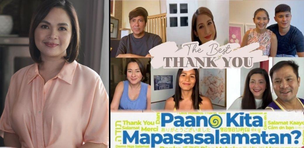 "Juday gets birthday surprise from AshMatt, Regine, and Sharon in ""Paano Kita Mapasasalamatan"""