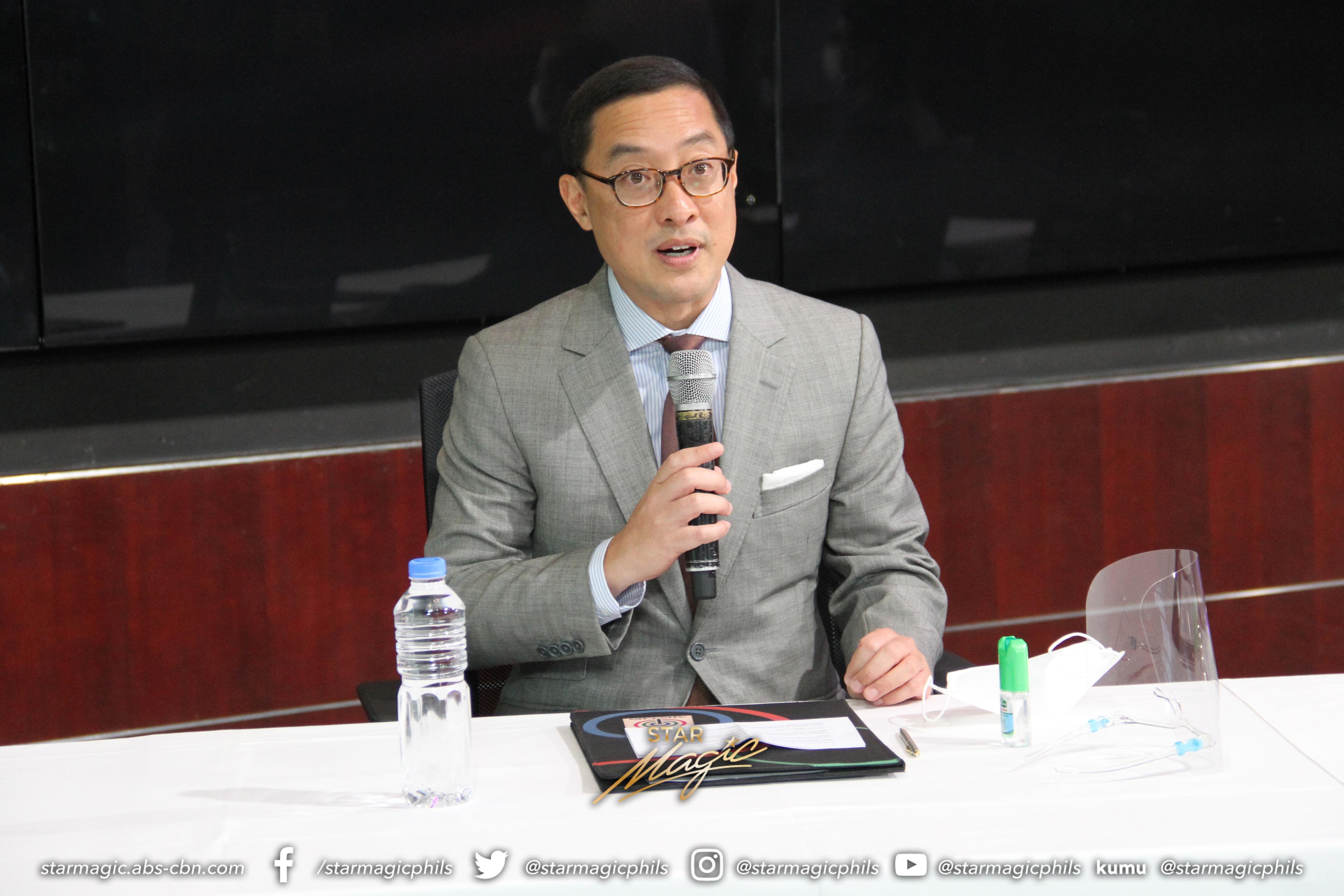 ABS CBN president and CEO Carlo Katigbak