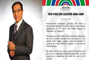 Ted Failon leaves ABS-CBN
