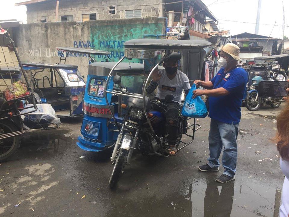 Naitawid ang pag ibig para sa ating mga kababayang tricycle drivers at kanilang mga pamilya
