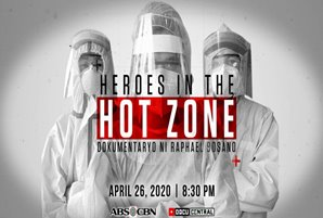 "ABS-CBN DocuCentral puts spotlight on COVID-19 frontliners in ""Heroes in the Hot Zone"""