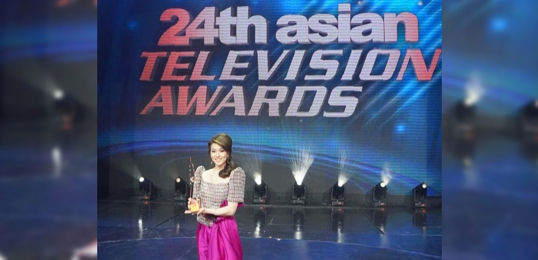 ANC's Cathy Yang hailed as Asia's Best TV News Presenter