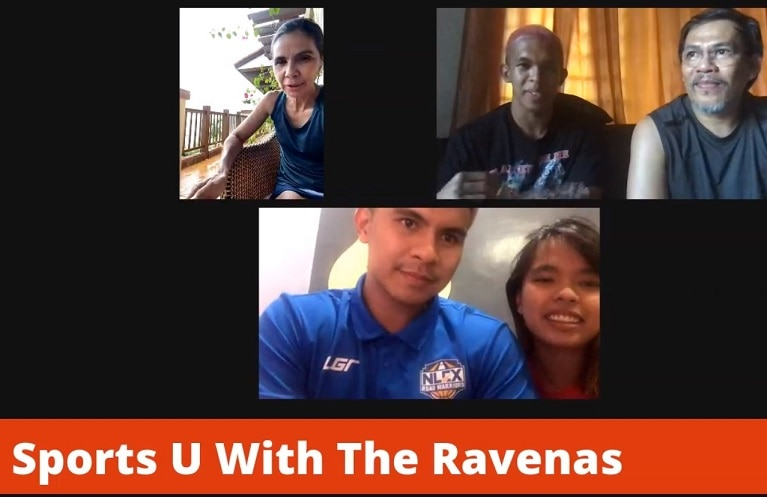 Dyan with the Ravenas